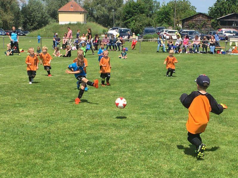 Fussballfest für Kinder beim SV Sallern Fussballfest für Kinder beim SV Sallern