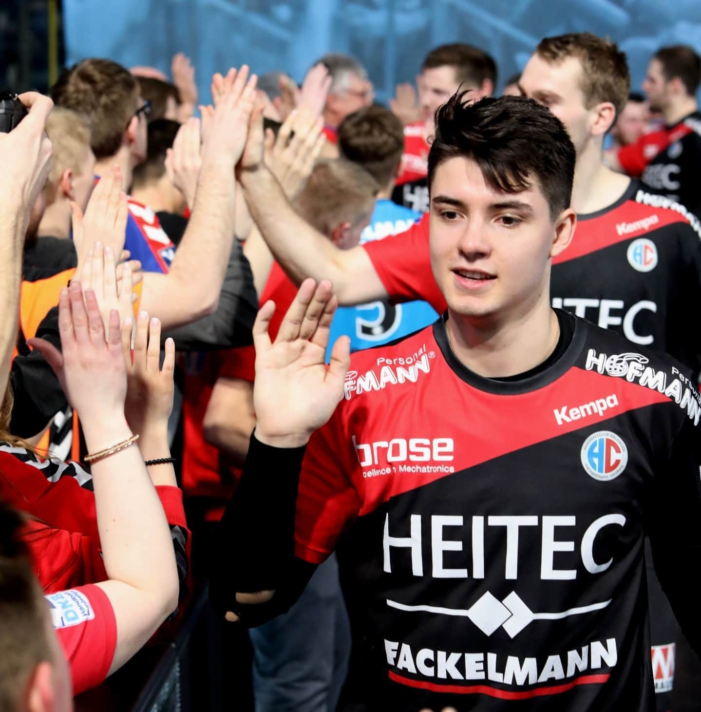 Handball: HC Erlangen siegt in Stuttgart und feiert Rekordergebnis Nach Stuttgart gefahren, um zu gewinnen