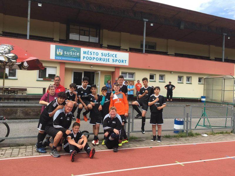 Blizz Leserreporter SV Sallern beim Otava Cup im tschechischen Susice
