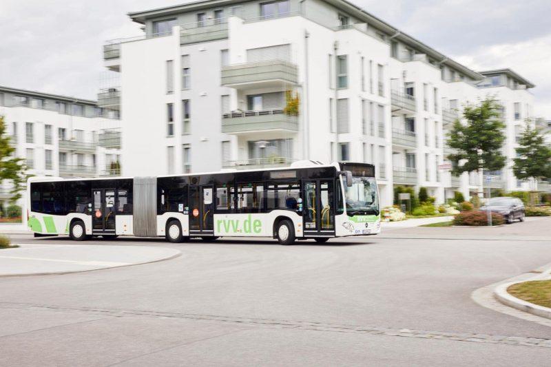 RVV: Fahrplanänderungen von Montag bis Samstag im Busbetrieb Busse fahren nach dem Samstagsfahrplan