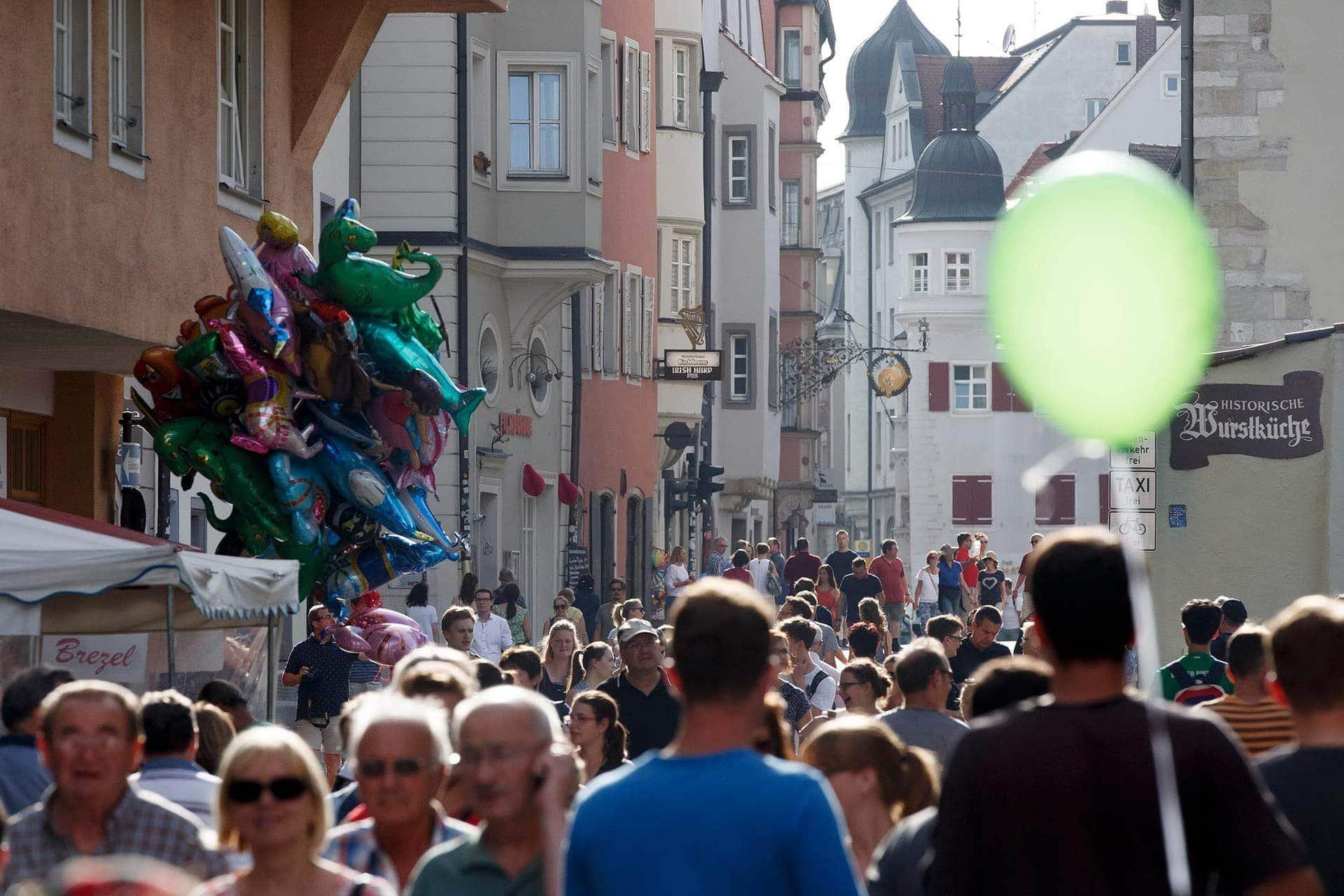 """""""Regensburg in Europa"""" Noch drei Wochen bis zum 23. Bürgerfest"""