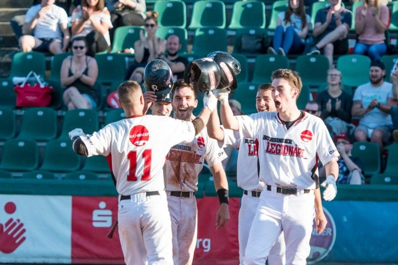 Baseball: Buchbinder Legionäre vorzeitig in den Playoffs Grenzenloser Jubel