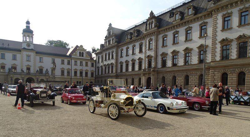 1. Oldtimerclub Regensburg organisiert Fahrt Historische Fahrzeuge bei der 4. Bruckmandl-Rallye am 8. Juni