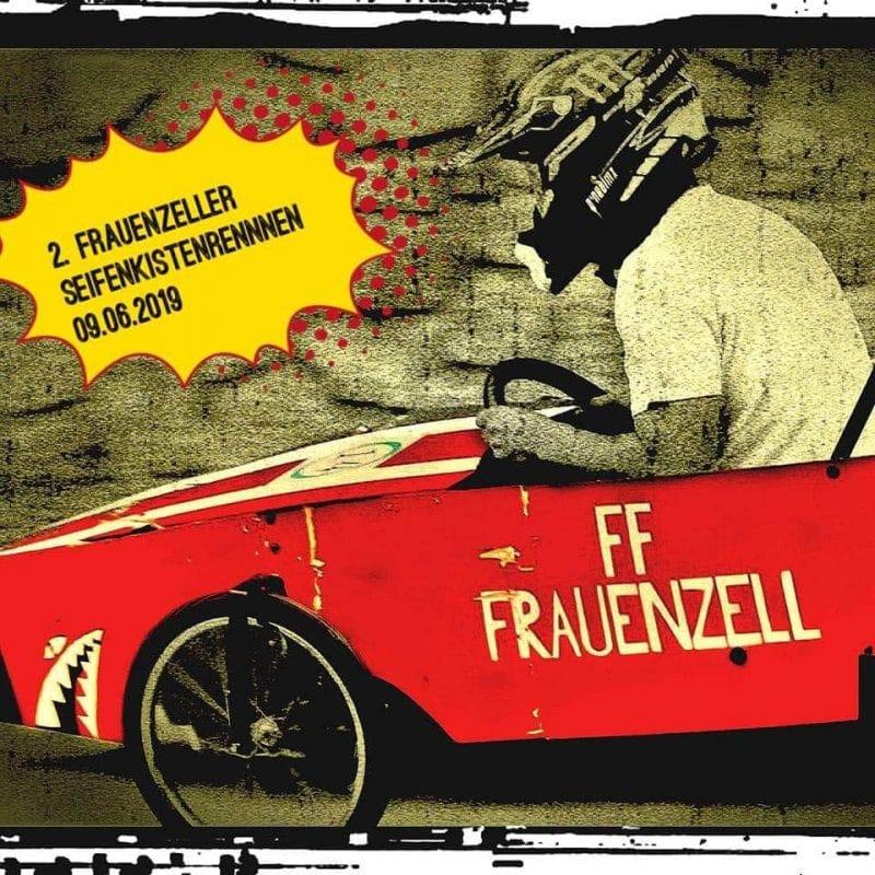 2. Frauenzeller Seifenkistenrennen am 9. Juni Kühne Fahrer in irren Seifenkisten - wildes Spektakel am Sonntag in Frauenzell