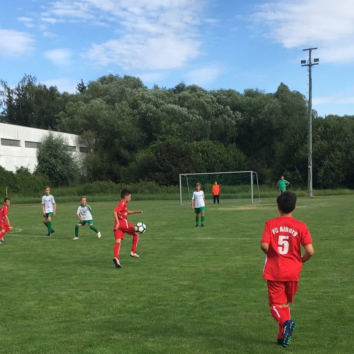 Blizz Leserreporter JFG Donautal Turniersieger bei SV Sallern