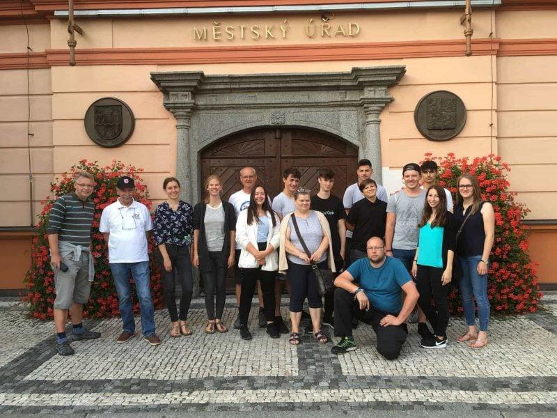 Sportjugend Regensburg besucht Susice in Tschechien Internationale Fahrt der Sportjugend nach Tschechien