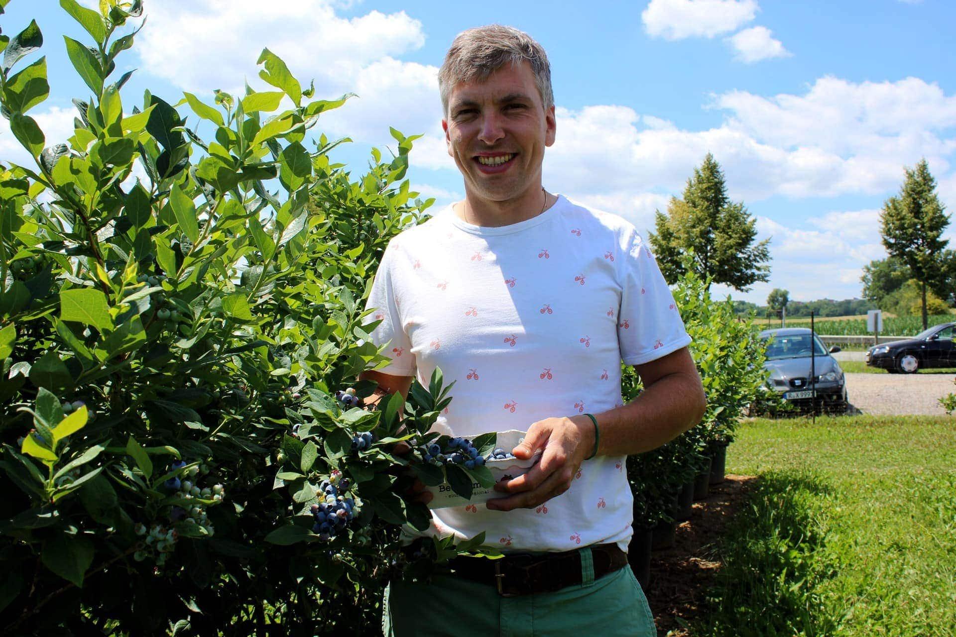 Frische Früchte zum selber Pflücken Beeriges von der Beerenmeile