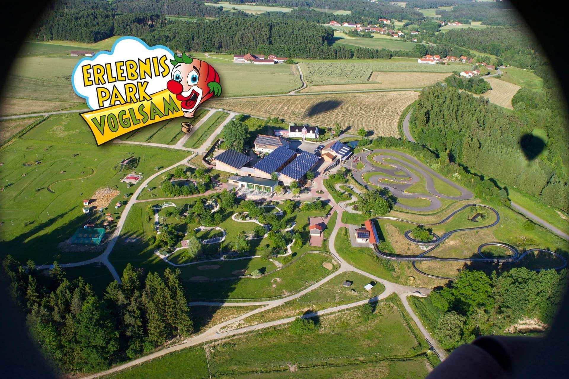 Jede Menge Spaß bei freiem Eintritt Erlebnispark Voglsam bei Schönau
