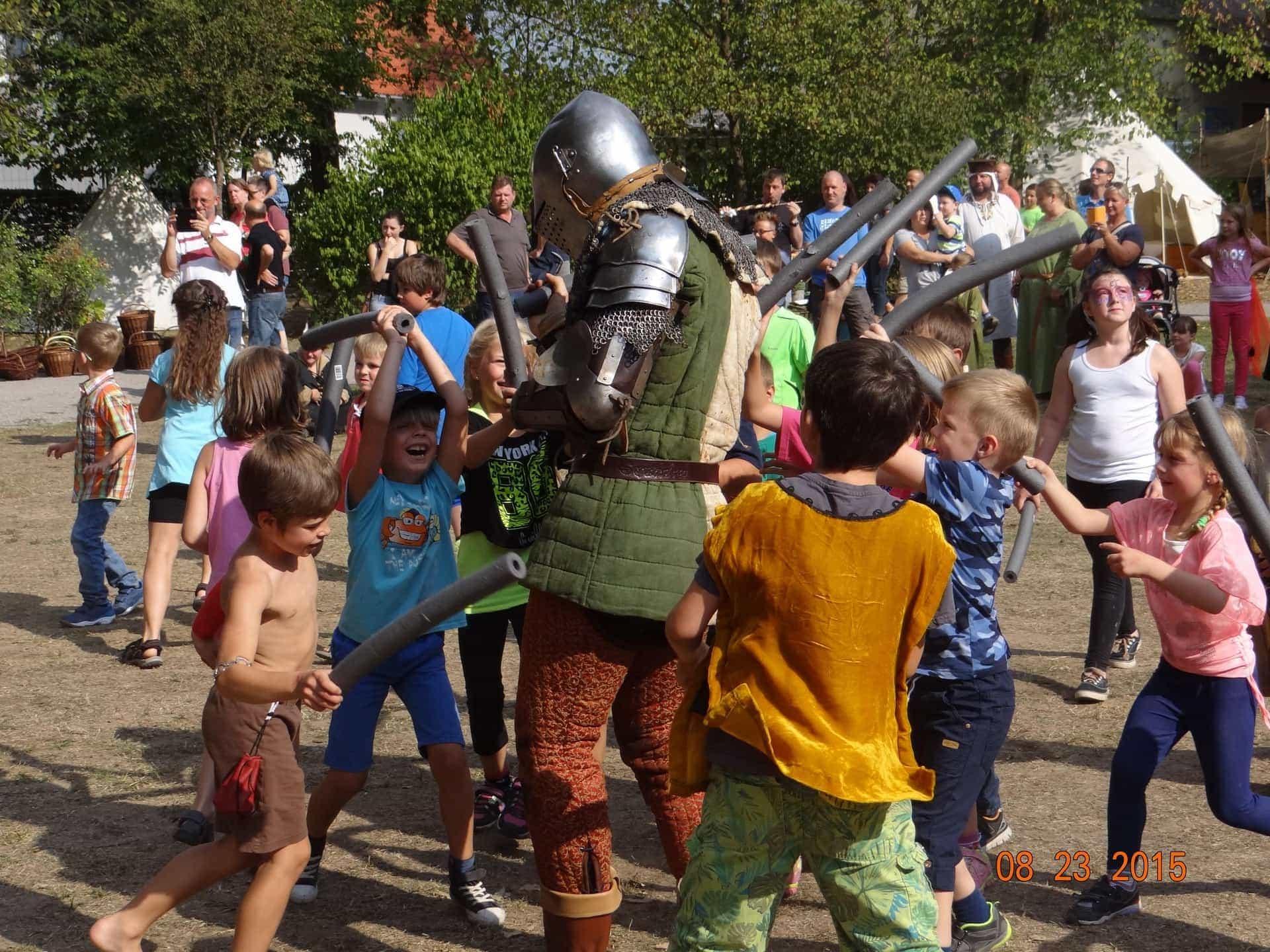 Das wahrscheinlich schönste Mittelalterfest der Oberpfalz - drei Tage beste Unterhaltung im Teublitzer Stadtpark