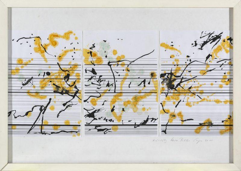 Retrospektive für Klaus Caspers im Leeren Beutel Die Klaviatur des Lebens