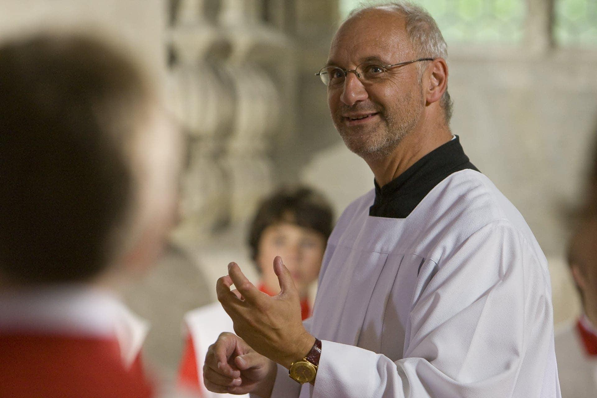 Feierlicher Pontifikalgottesdienst für Professor Roland Büchner im Regensburger Dom am 17.7. Verabschiedung des Domkapellmeisters