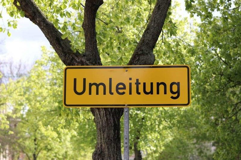 Straßensperrung von 27.-28. Juli Wegen A3 Ausbau: Sperrung der Landshuter Straße