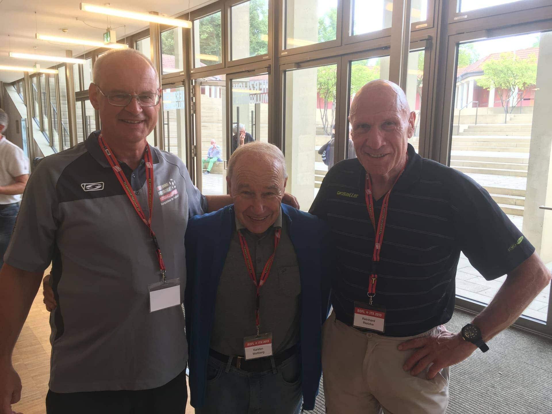 Blizz Leserreporter Trainerkongress in Kassel/Jugendleiter des SV Sallern dabei