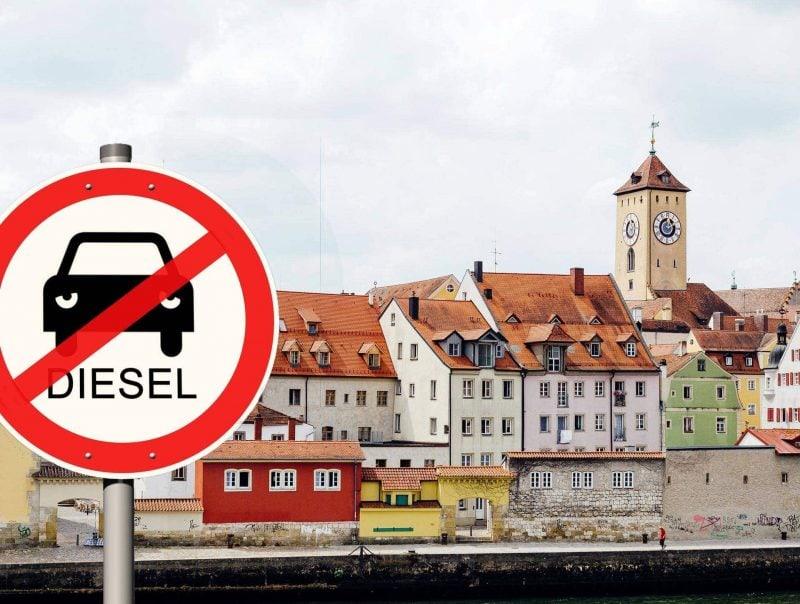Fahrverbote in Regensburg? Deutsche Umwelthilfe will Diesel-Fahrzeuge aus Stadtgebiet verbannen
