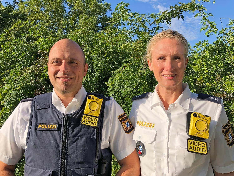 Body-Cams für Polizei Oberpfalz Einsatzvideos sollen Schutz für Beamte und Beweismittel vor Gericht sein