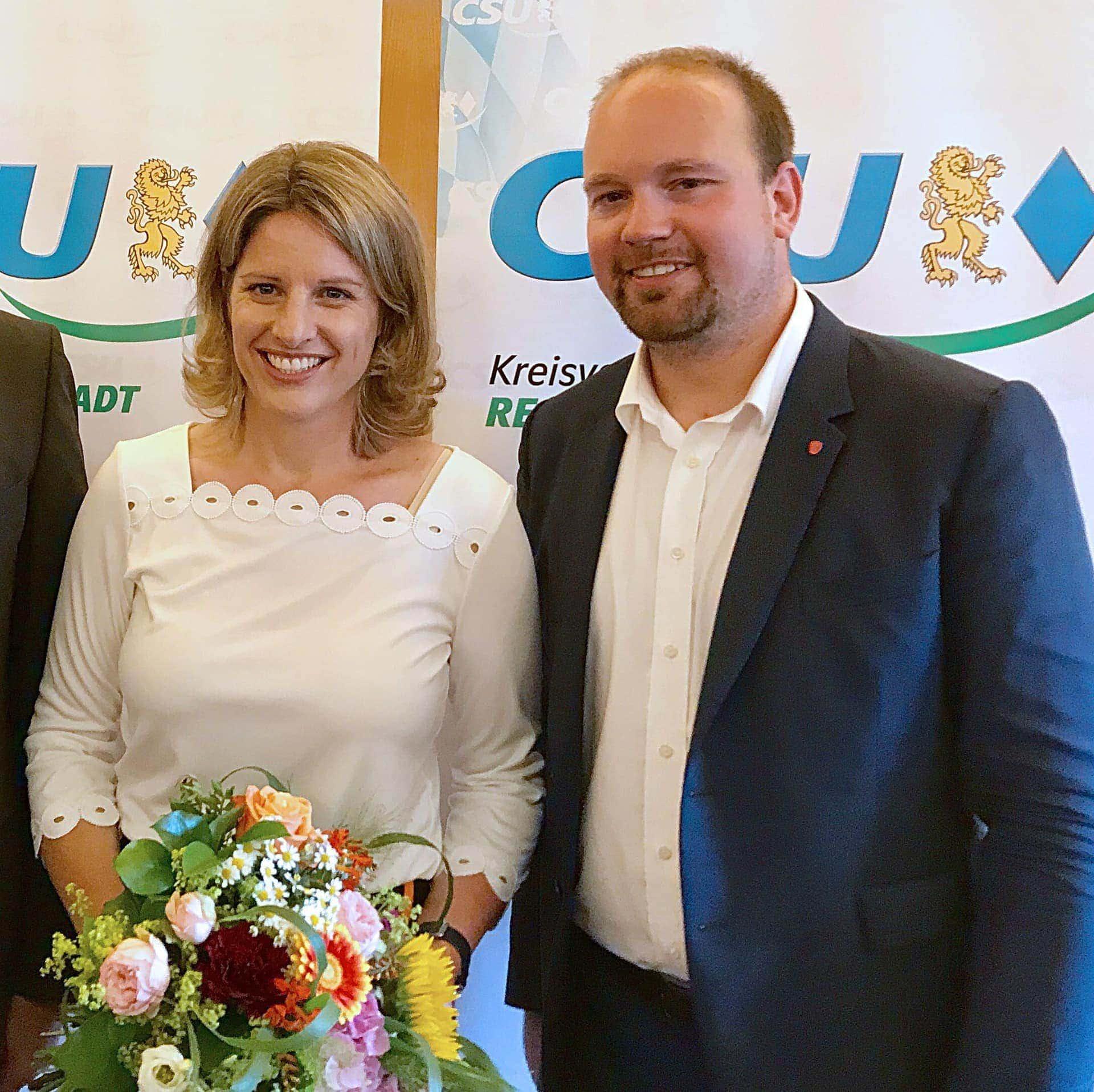 Astrid Freudenstein als Oberbürgermeister-Kandidatin nominiert CSU Regensburg geht mit der Bundestagsabgeordneten in den Wahlkampf 2020