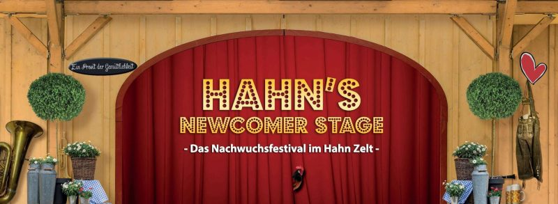 Newcomer on Stage Premiere am 3.9.: Partybands im Hahn Zelt