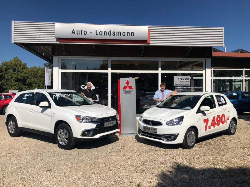 Mitsubishi-Händler lässt Preise purzeln Hammer-Preise bei Auto-Landsmann