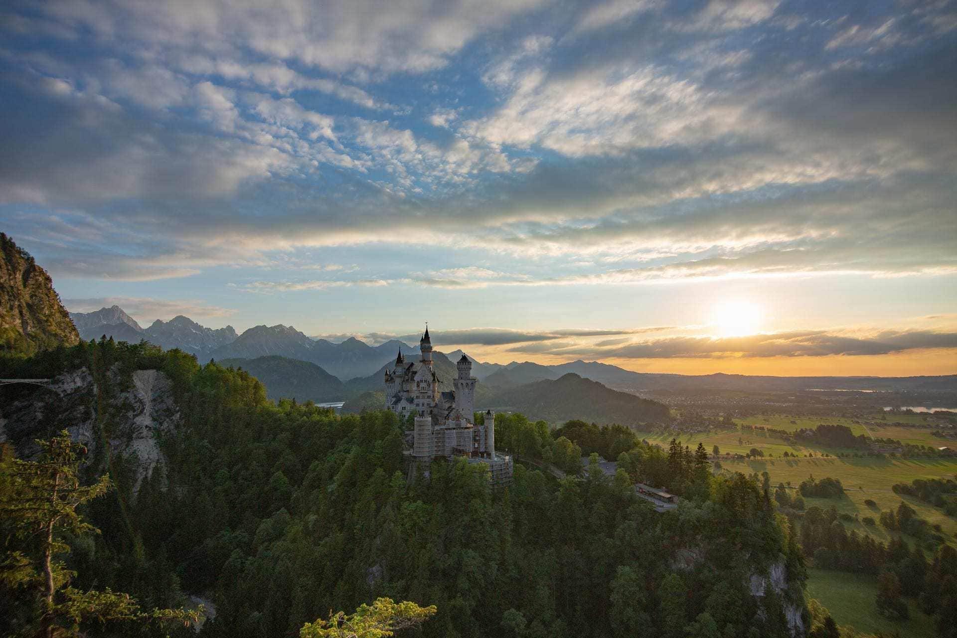 150 Jahre Schloss Neuschwanstein Biograf Marcus Spangenberg im BR