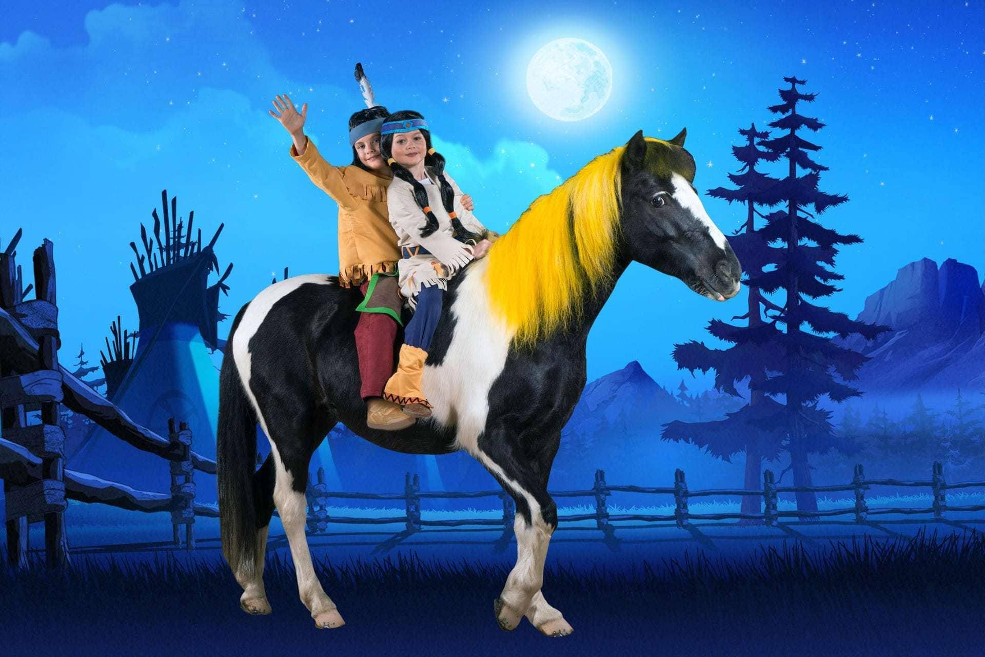 """Mit Blizz günstiger zur Pferdeshow """"Yakari und Kleiner Donner"""" Für Pferde- und Showliebhaber aller Altersstufen"""