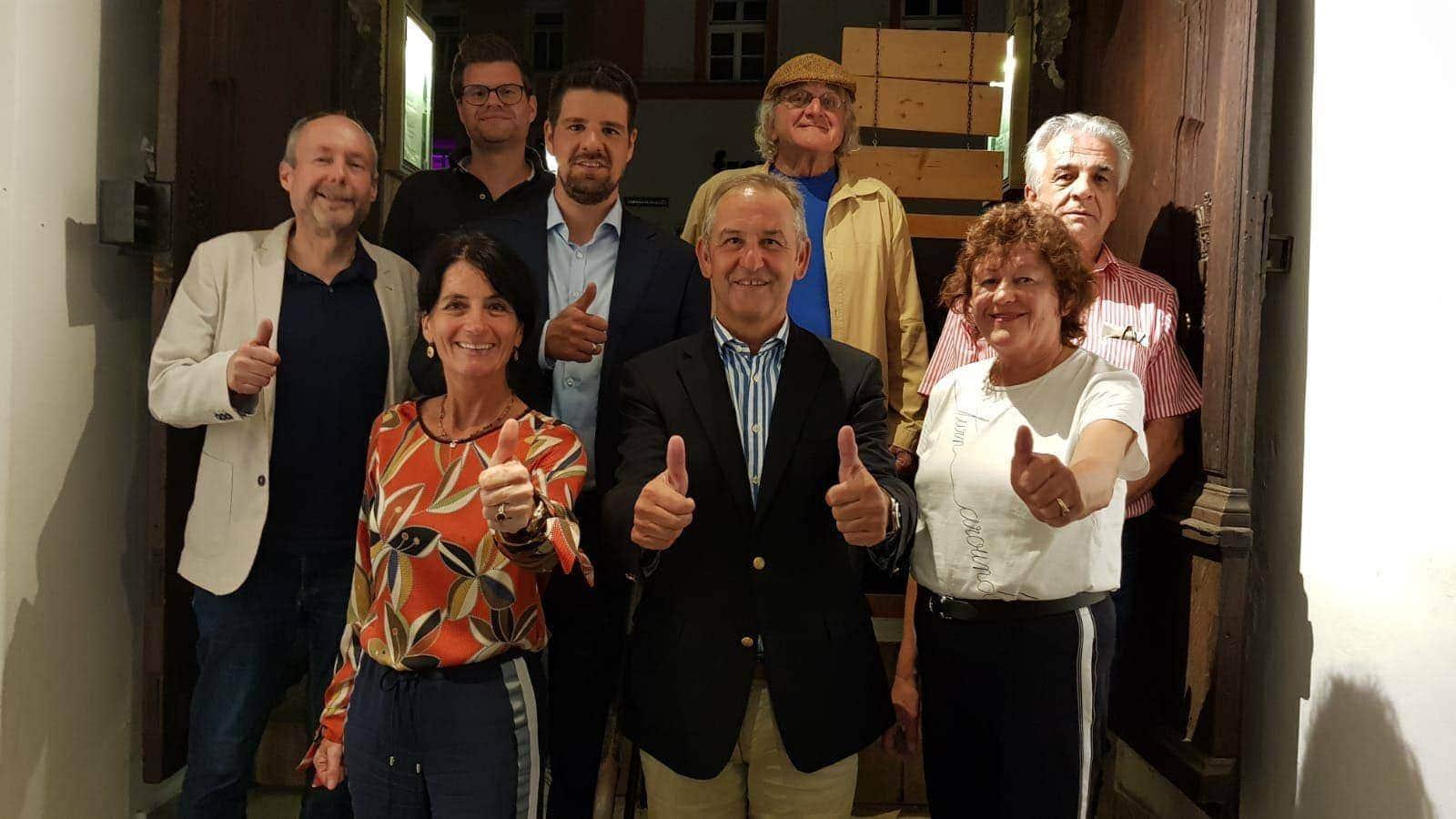 Kommunalwahlen 2020 Freie Wähler nominieren Artinger