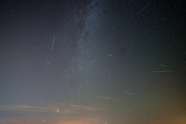 """Am Freitag, 9. August, bietet die Sternwarte Regensburg im Rahmen der öffentlichen Führung eine Sonderveranstaltung zum Thema """"Perseiden"""" an. Nacht der Laurentiustränen"""