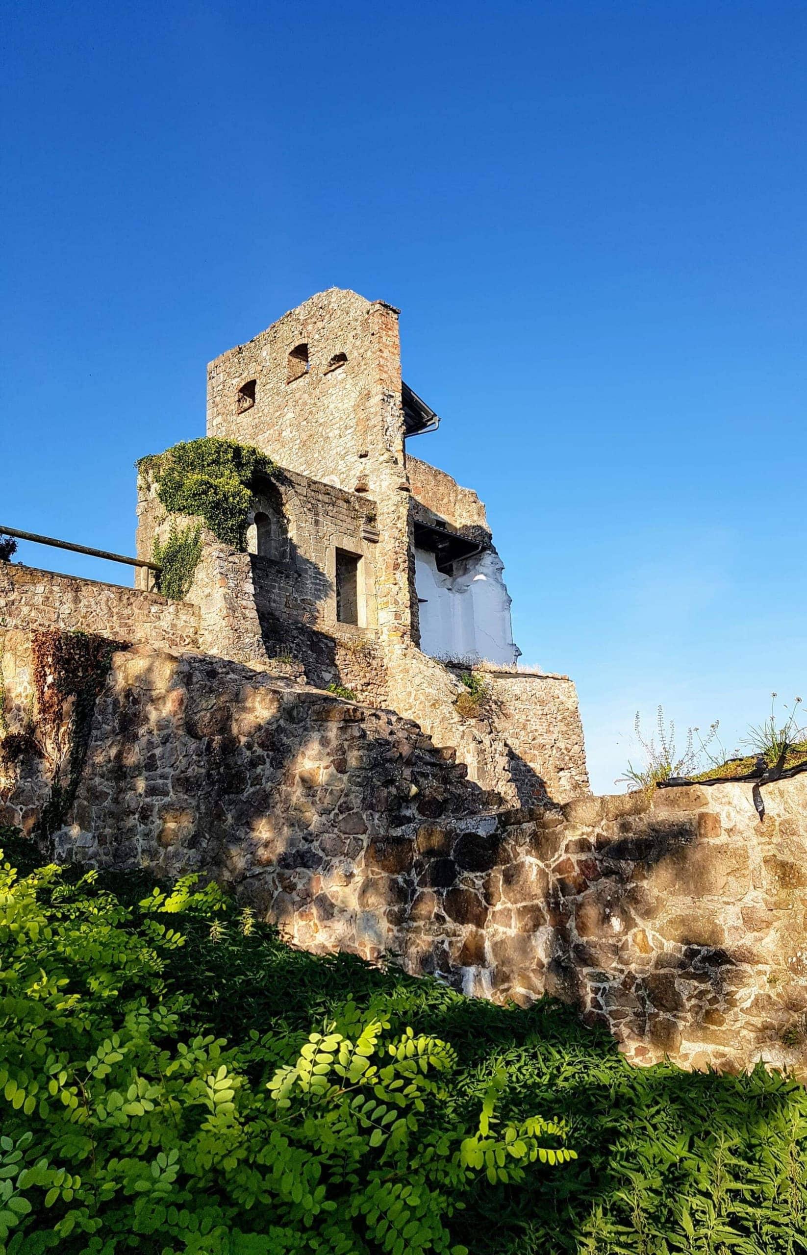 Blizz Leserreporter Ausflugstipp Nr. 1 - Burgruine Donaustauf