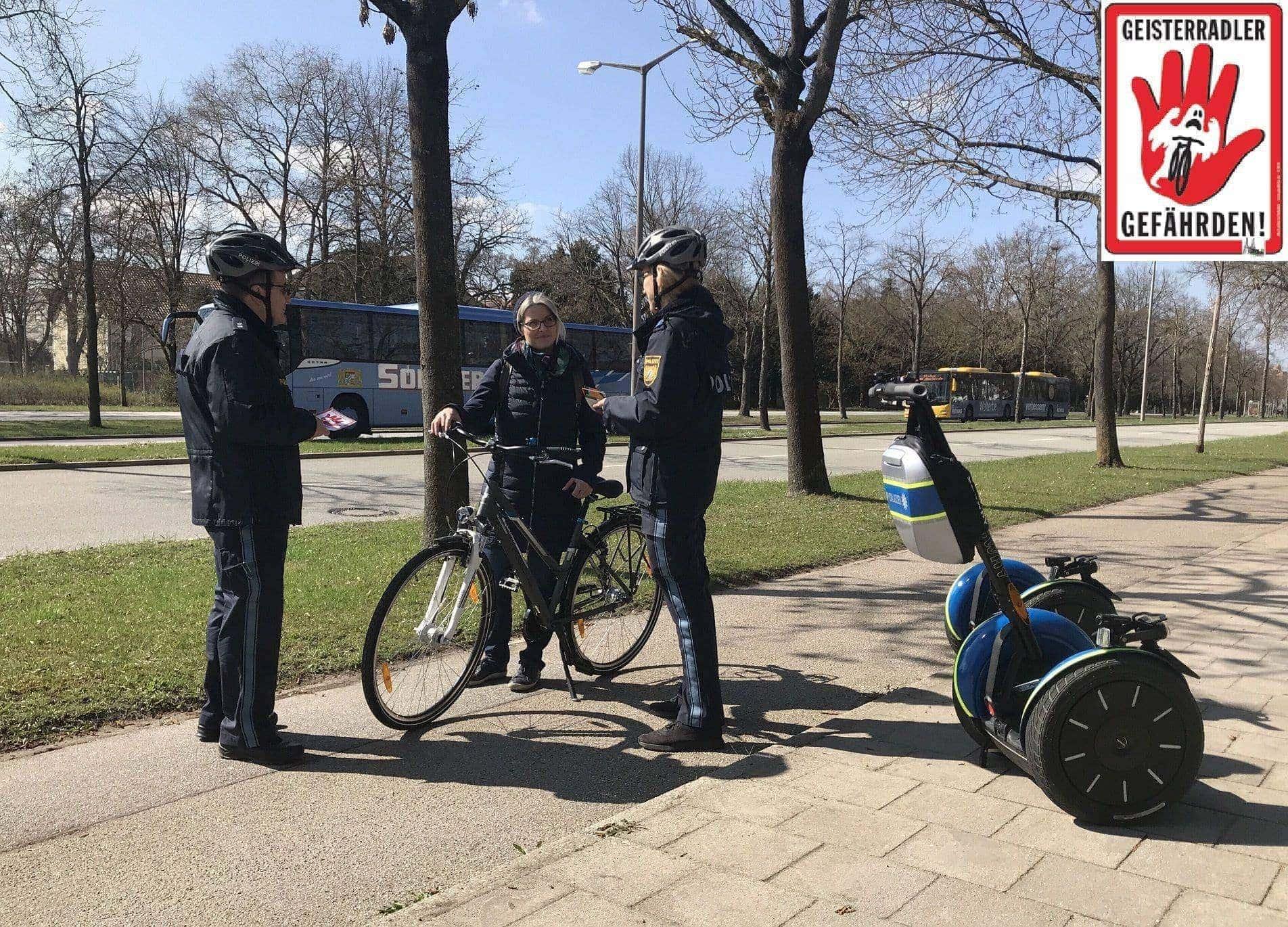 Fahrradkontrollen in Regensburg