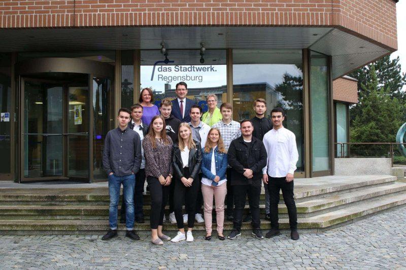 Ausbildungsstart 2019 Unternehmen in Regensburg begrüßen neue Azubis