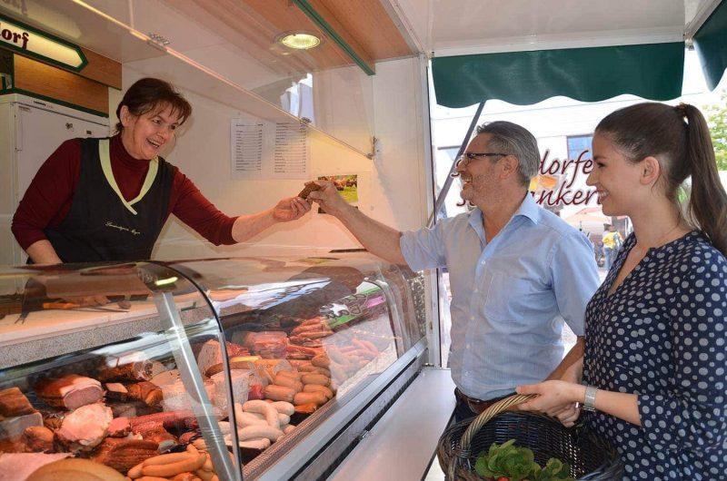 Großer Regionalmarkt am 29. September beim Landratsamt Regensburg Gutes aus der Heimat