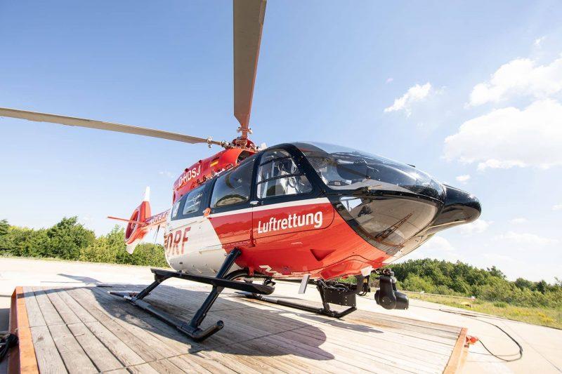 """Tag der offenen Tür der Hubschrauberstation am Universitätsklinikum Regensburg """"Christoph Regensburg"""" - der rot-weiße Luftretter"""