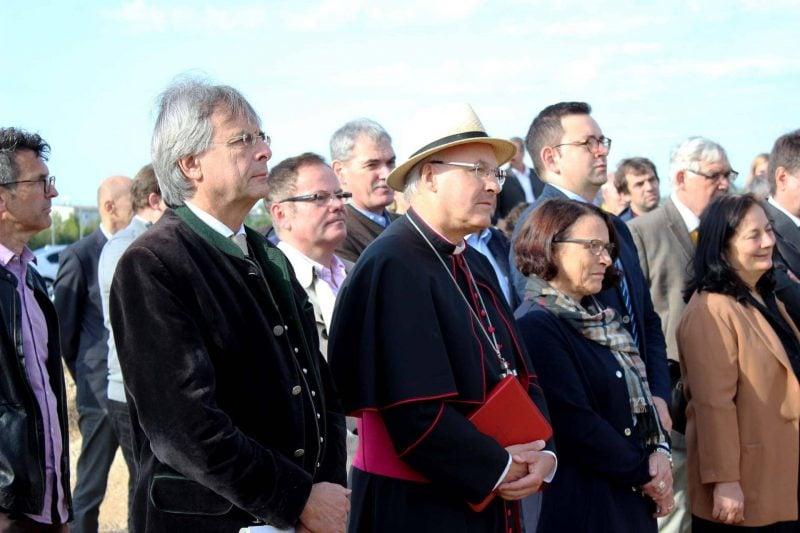 Spatenstich für Leuchtturmprojekt Stadt und Bistum bauen gemeinsames Depot für regionale Kulturgüter
