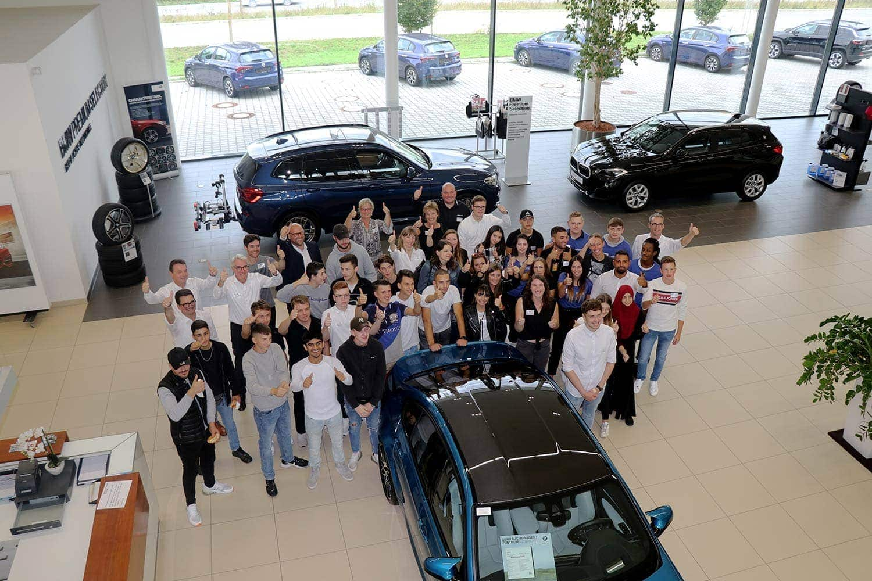 Die HWGruppe begrüßt 37 neue Auszubildende in der Automobilbranche Positiver Start ins Berufsleben