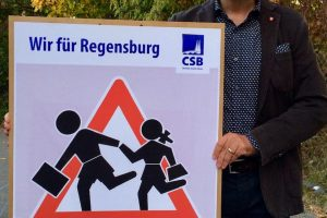 Stadtrat Christian Janele für Ausbau des Fahrradnetzes in Regensburg