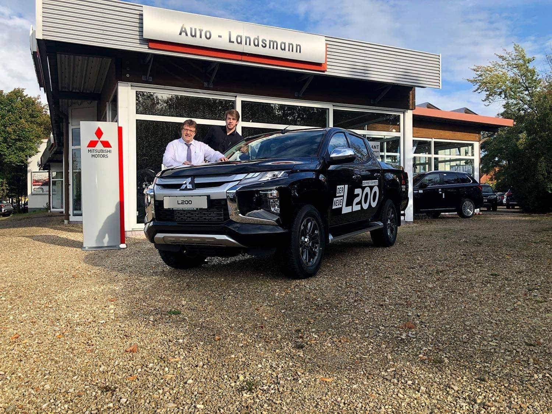 Regensburg: Präsentation des neuen Mitsubishi ASX und des neuen Mitsubishi L200