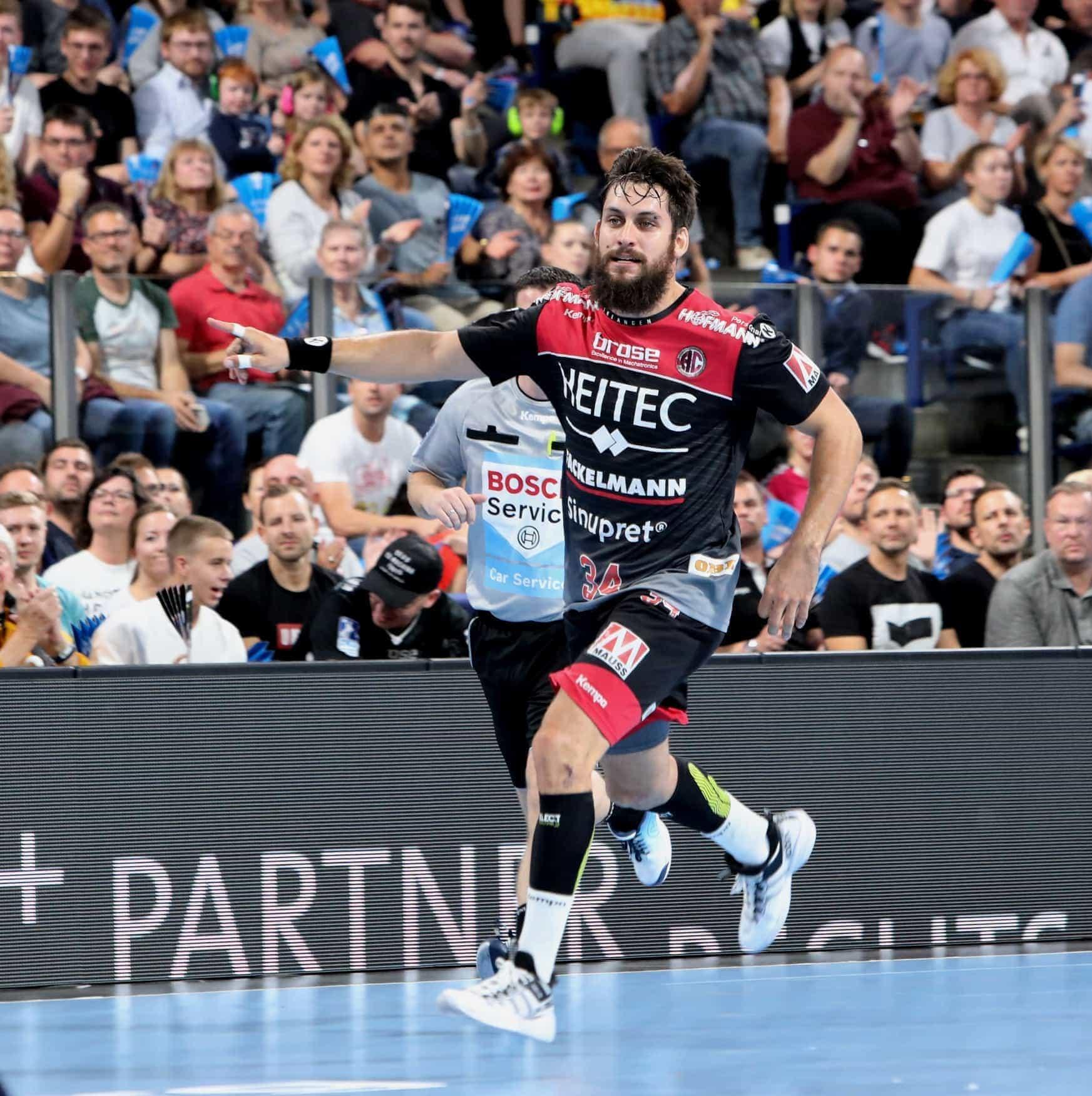 Blizz Leserreporter Handball-Bundesliga: HC Erlangen lässt die Löwen stolpern