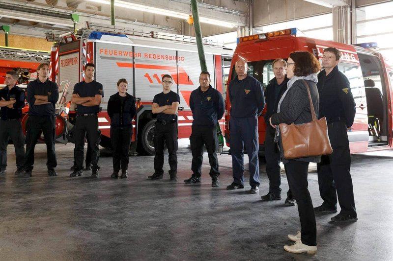 Berufsfeuerwehr der Stadt Regensburg 180 Feuerwehrler ziehen in neue Hauptfeuerwache um