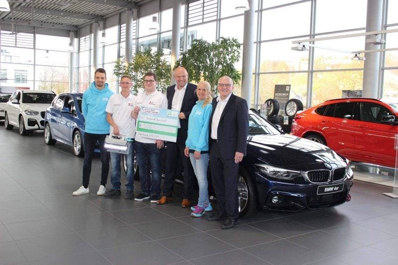 """BRK erhält Hilfe von Autohaus Hofmann Absaugpumpe für """"Helfer vor Ort"""" finanziert"""