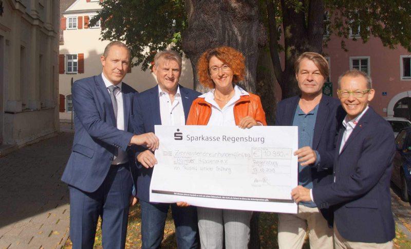Rudolf Winkler Stiftung spendet 10.950 Euro für Malteser Mahlzeiten-Patenschaften Gezielt etwas gegen die Altersarmut unternehmen