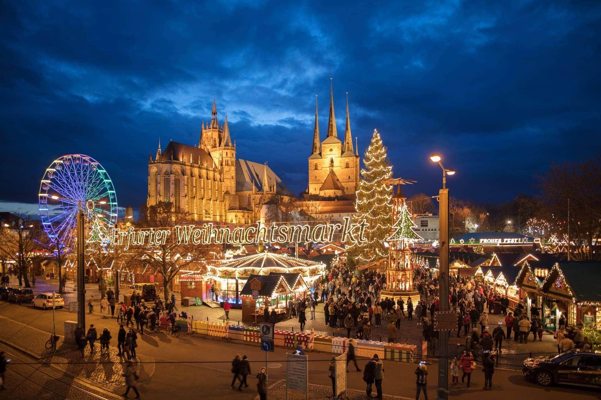 Bequem zum Erfurter Weihnachtsmarkt Per agilis Sonderzug zu einem der schönsten Weihnachtsmärkte in ganz Deutschland