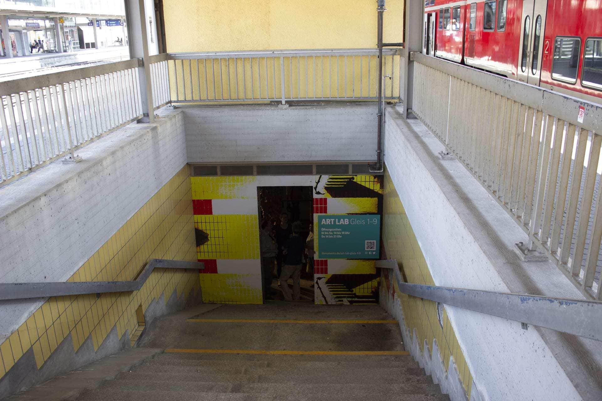 Kunst im Tunnel am Hauptbahnhof Ausstellung IQRA verlängert