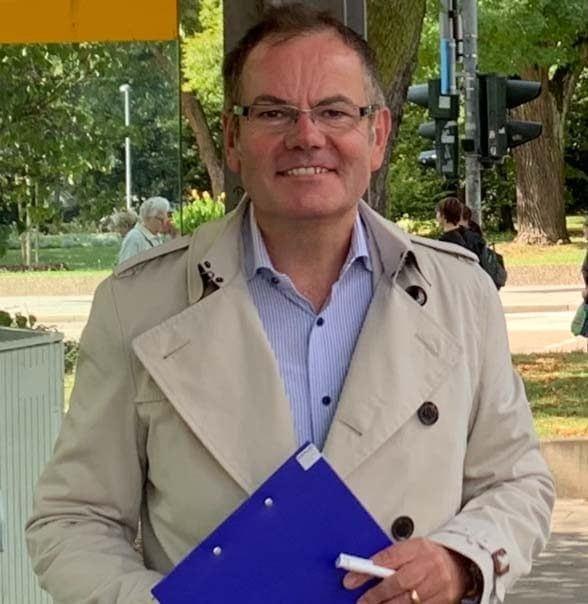 """""""Wir müssen viel mehr tun!"""" OB-Kandidat Christian Janele unterstützt Radentscheid"""