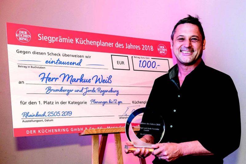 """Ausgezeichnete Planungskompetenz """"Ihr Küchenhaus"""" ist Küchenplaner 2018"""