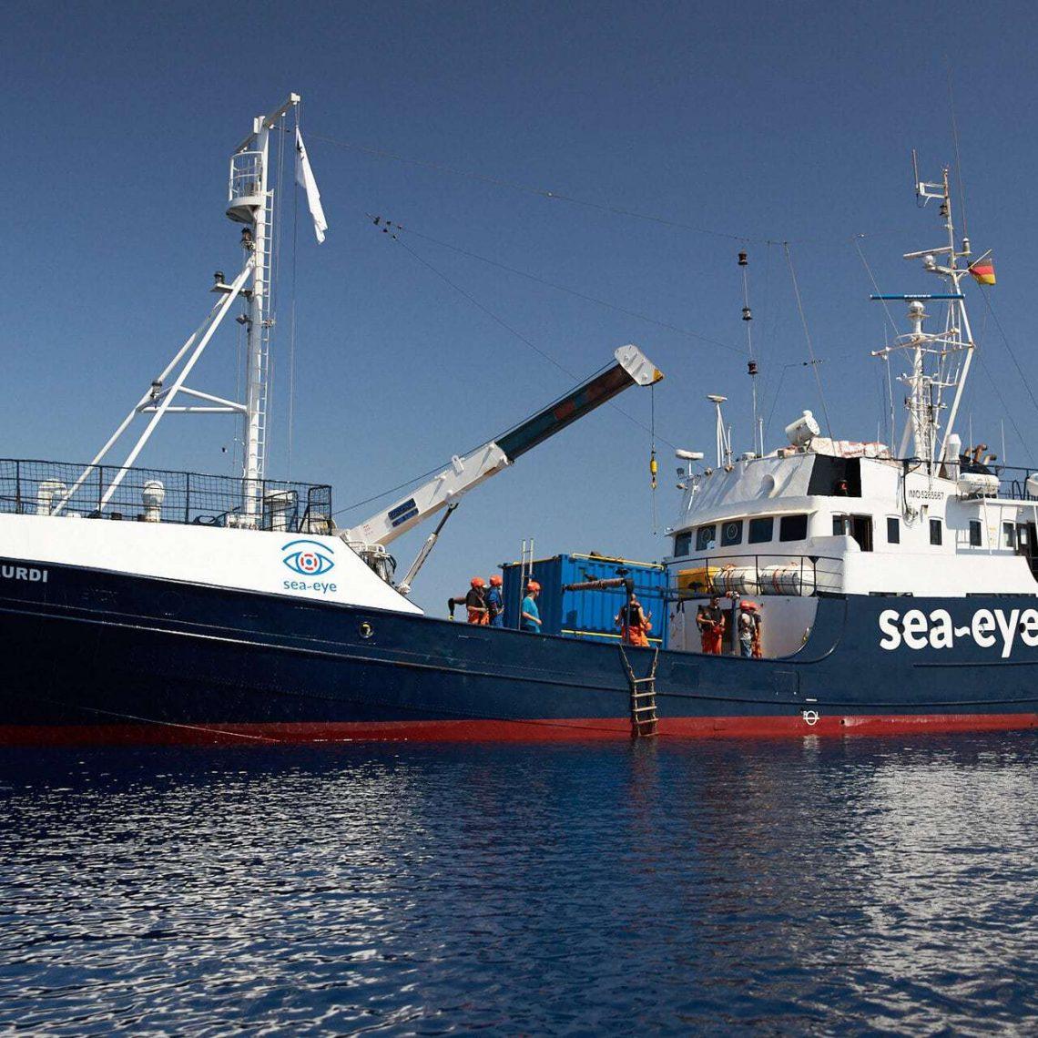 Sea-Watch finanziert Rettungsmission der Organisation Sea-Eye Alan Kurdi startet in weiteren Rettungseinsatz im Mittelmeer