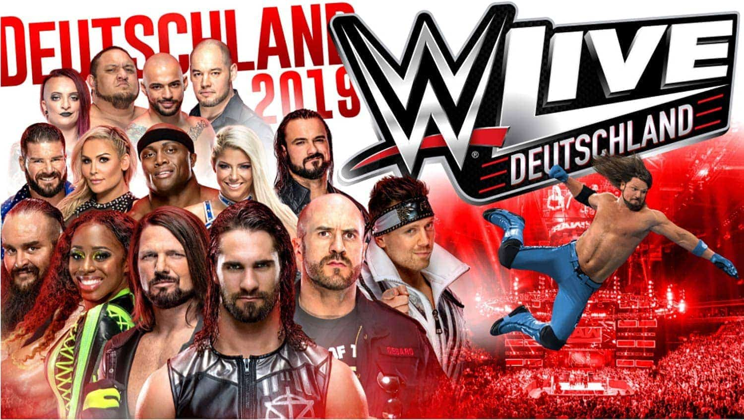 WWE LIVE in Regensburg Action und Entertainment beim Wrestling Event der Superlative