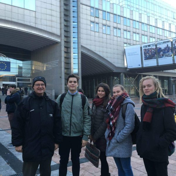 Blizz Leserreporter Tag der Jugend in Europa. Sportjugend in Brüssel aktiv dabei