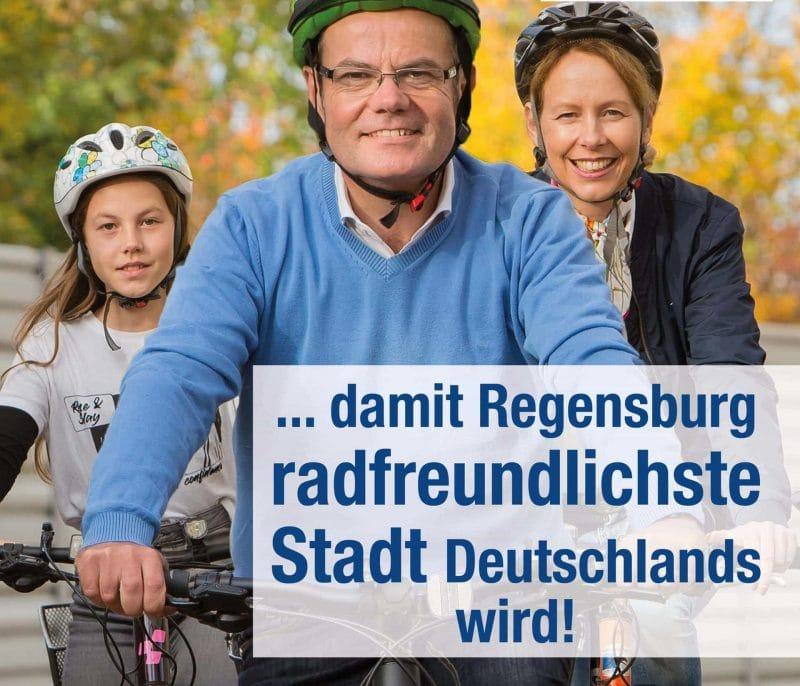 Im Rathaus Regensburg soll ein frischer Wind einziehen Oberbürgermeister-Kandidat Christian Janele (CSB) steht für einen neuartigen Politikstil