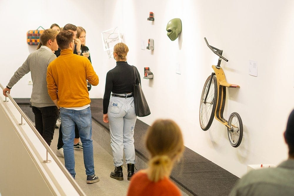 Sieben Jahre Industriedesign an der OTH Regensburg Jubiläums-Werkschau noch bis Mittwoch