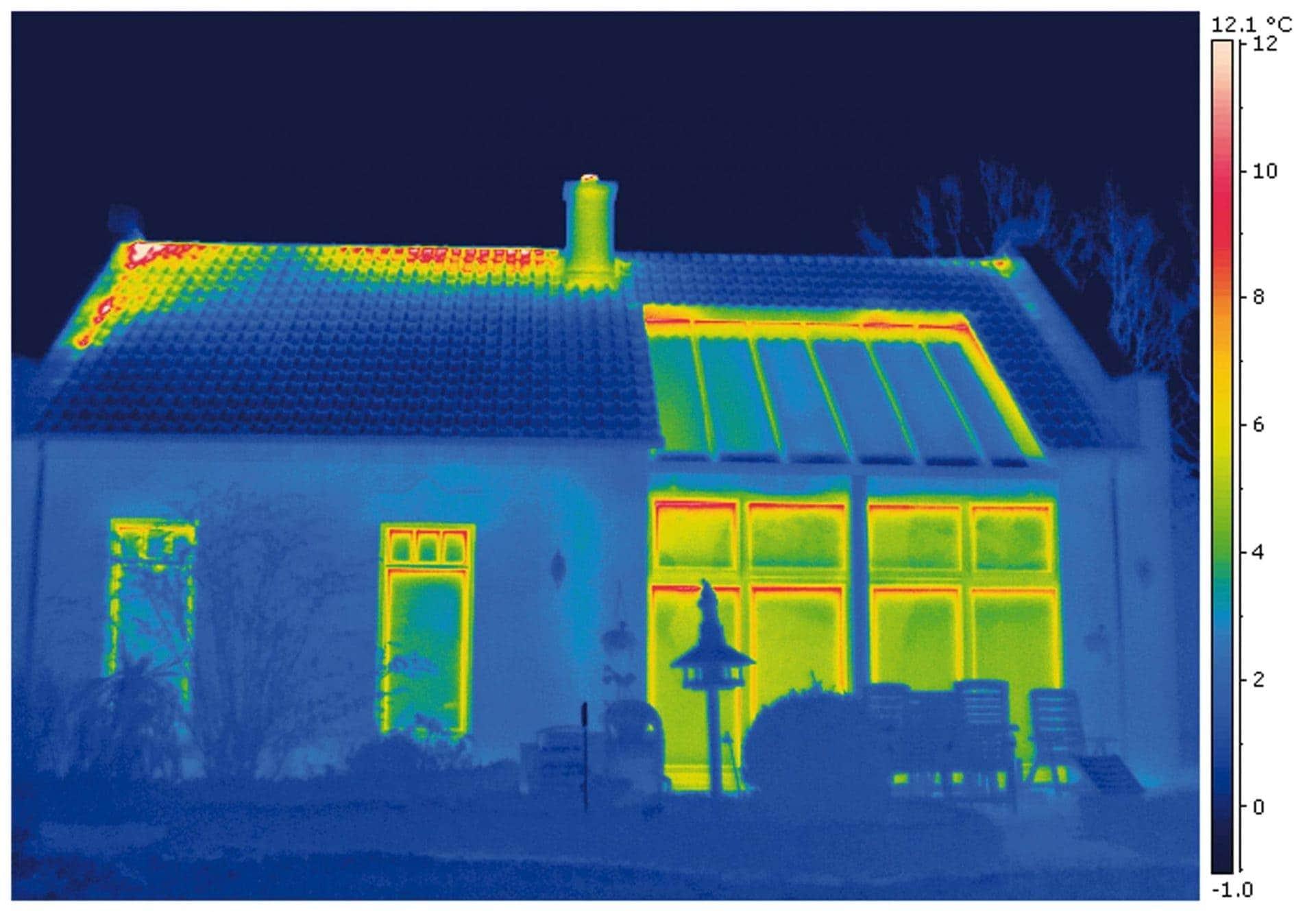 Wärmeverlusten auf die Spur kommen Anmeldungen zum Thermografie-Check der Rewag jetzt möglich