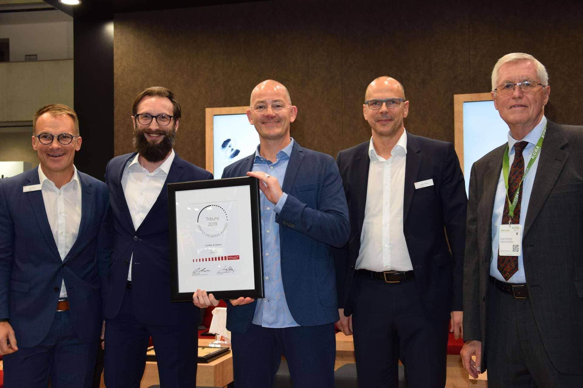"""""""Smart Hearing Award 2019"""" Schiller & Gebert erneut auf weltgrößter Hörgeräte-Messe ausgezeichnet"""